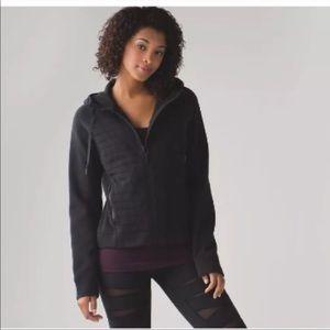Lululemon Black Fleece be True Hoodie Sweatshirt
